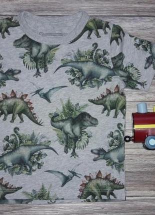 Футболка в динозавры 12-18 мес1 фото