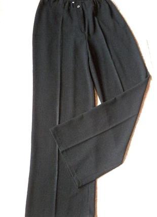 Чудесные прямые брюки,высокая талия,l-xl/48-50