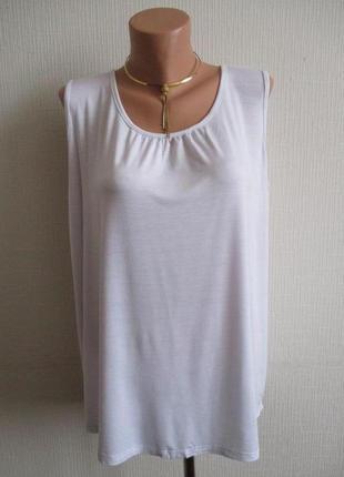 Натуральная вискозная трикотажная блуза esmara
