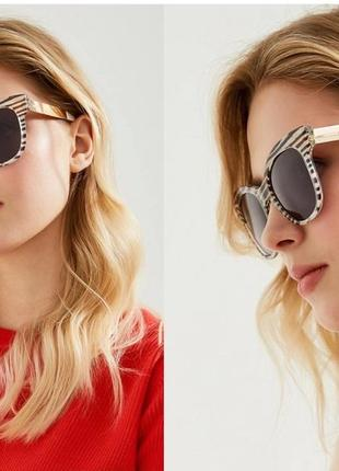 Солнцезащитные очки max mara mm textile zy5, оригинал, италия