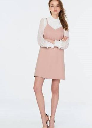 Трендовое платье в бельевом стиле asos 18--54 размер.2 фото