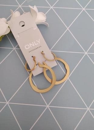 Сережки підвіски кільця, серьги кольца, подвески only с сайта asos