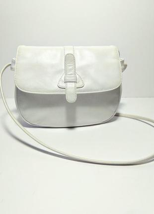 Кожаная сумка клатч кроссбоди 100% натуральная кожа
