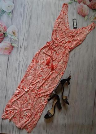 Платье трикотажное вискозное макси длинное в пол от marks&spencer