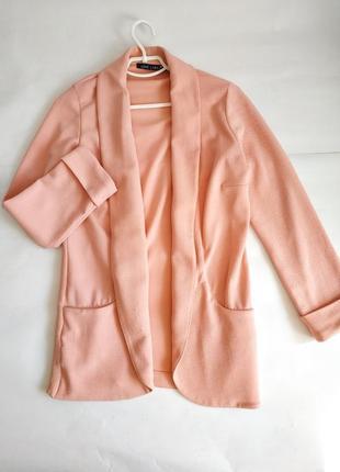 Sale пудровый пиджак накидка