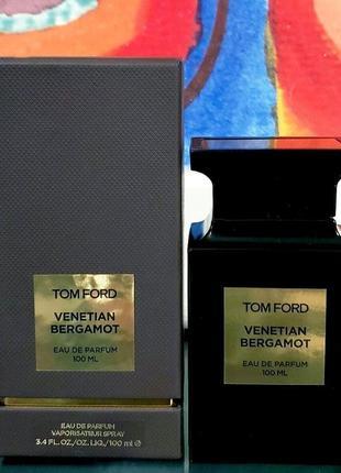 Tom ford venetian bergamot_original eau de parfum 5 мл затест_парфюм.вода