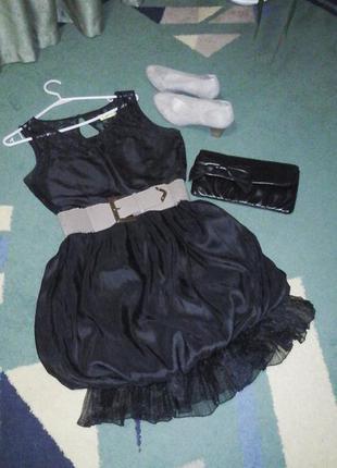 Очень красивое клубное платье (производство англия)