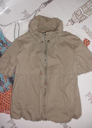Интересная летняя куртка  пиджак жакет topshop с короткими рукавами