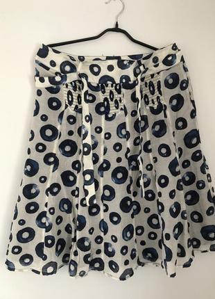 Изумительная легкая юбочка элитного французского бренда    gerard darel р. 42