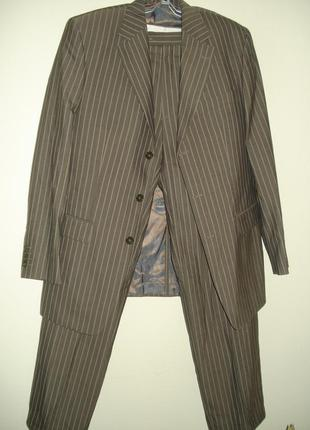 Шикарный мужской костюм /nano by becker/50-52