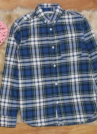 Крутая рубашечка h&m 10-11лет