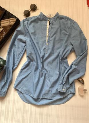 Удлинённая рубашка h&m