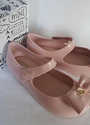 Mini melissa туфельки балетки босоножки оригинал