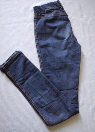 Розпродаж!! сині джинси легинси