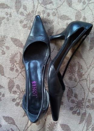 Изящные туфли из натуральной кожи jones bootmaker