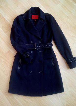 Шерстяное пальто mango, р. s