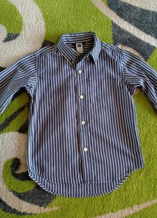 Рубашка, сорочка gap 4-5 років.