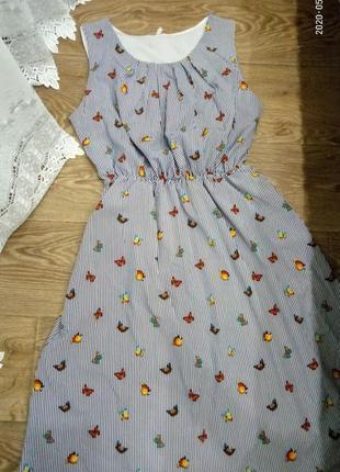 Платье-сарафан р.50-54
