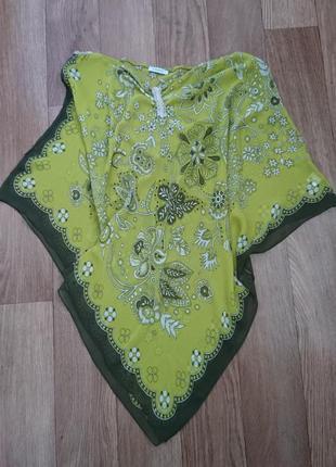 Шелковая блуза-накидка