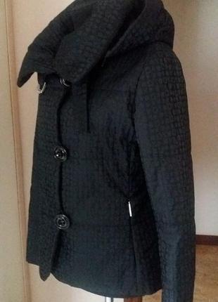Брендовая куртка синтапон капюшон airfield (германия)  раз.м-l (пог 51)