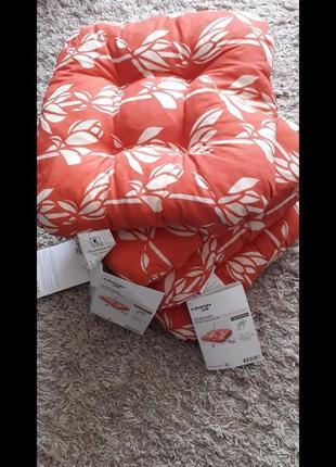 Подушки для стульев,4шт,новые