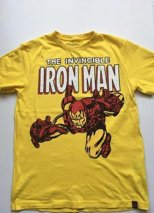 Футболка marvel iron man cropp