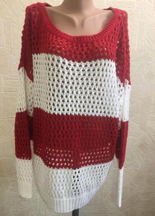 Пуловер, реглан body flirt 52-54 р батал