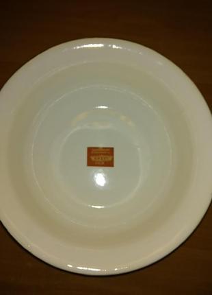 Большя эмалированная миска- салатник, ссср