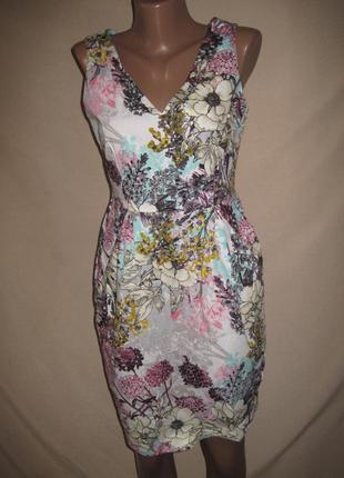 Натуральное платье дороти перкинс р-р10,