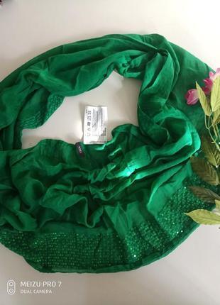 Нежний красивий фирменний шаль от немецкого бренда cecil