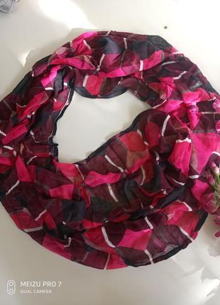 Красивий нежний летний шаль хомут от немецкого бренда cecil