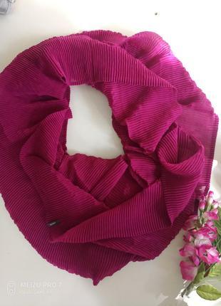 Красивий нежний фирменний шаль хомут от немецкого бренда cecil