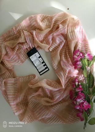 Красивий нежний шаль хомут от немецкого бренда
