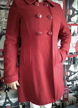 Шикарное шерстяное пальто