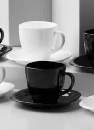 Чайный сервиз carine black&white