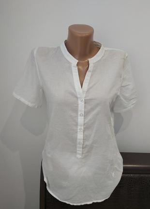 Блуза с воротником-стойкой emily