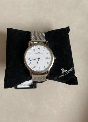Часы мужские стильные ( унисекс), кварц оригинал jacques lemans