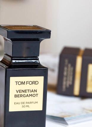 Tom ford venetian bergamot_original eau de parfum 3 мл затест_парфюм.вода