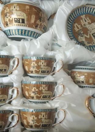 Чайный сервиз египет на 15 предметов