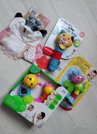 Набір іграшок / набор игрушек прорезователи погремушки 0+ 6+