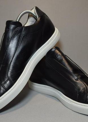 Мокасины слипоны dondup slip-on leather кеды кроссовки. италия. оригинал. 40-41 р./27 см.