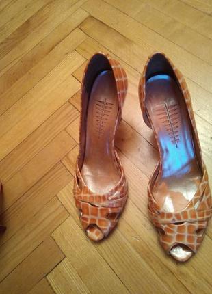 Брендовые кожаные туфли bronx, размер 41