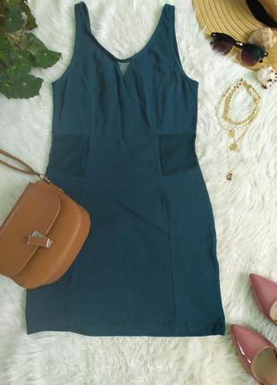 Короткое платье с вырезами по бокам обмен