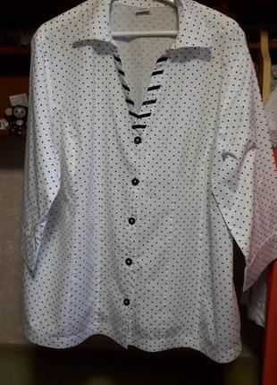 Блузка рубашка германия красивая  и нарядная...