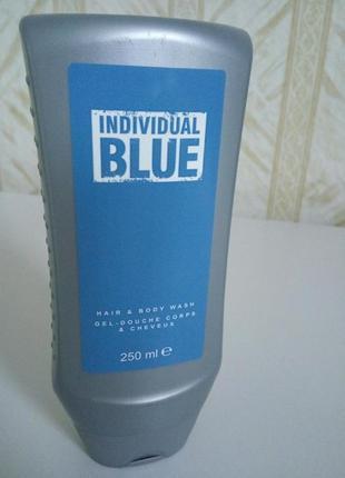 Individual blue гель для душа вход в эйвон представителям