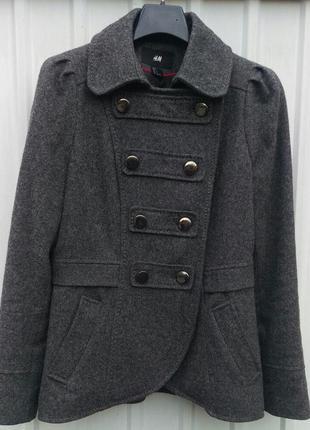 Пальто мундир h&m
