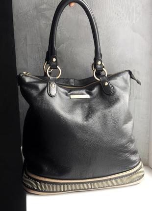 Кожаная сумка baldinini trend