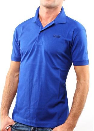 Мужская футболка тениска поло roberto cavalli оригинал с голограммами