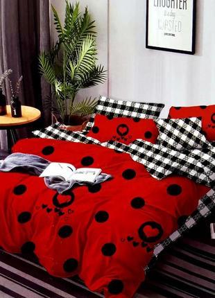 Комплекты постельного белья двуспальный, евро 4 наволочки