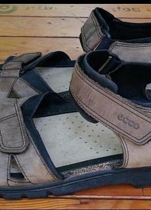 Оригинальные кожаные сандали ecco